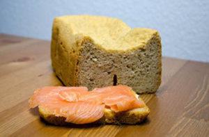Lachsbrot Rezept aus dem Brotbackautomat