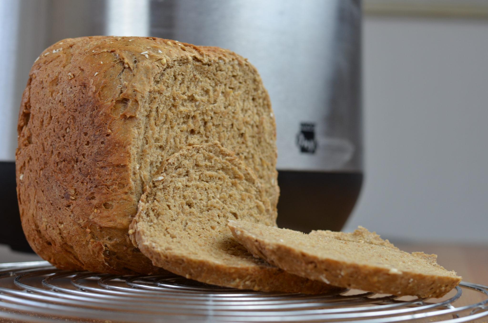 Vollkornbarot aus dem Unold Brotbackautomat