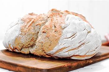 Irisches Sodabrot - Brot mit Backpulver und Natron
