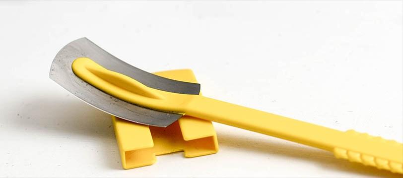 Durch das Teigmesser platzt dein Brot nicht mehr unkontrolliert auf