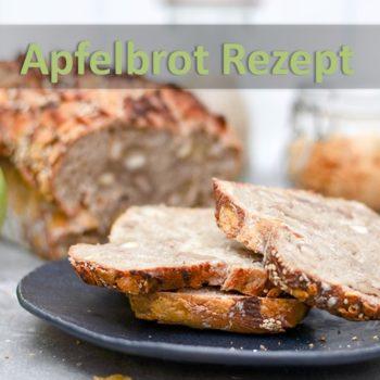 Apfelbrot Rezept - aufgeschnitten