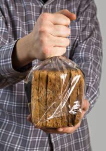 Brot richtig lagern in der Plastiktüte