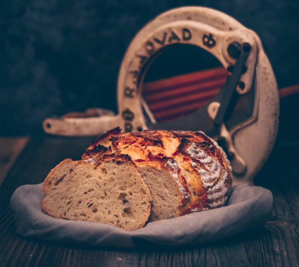 This is how the baked buttermilk bread recipe looks like