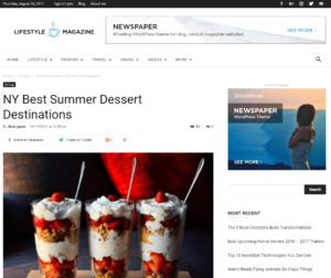 Foodblogger werden mit dem Newspaper-Theme