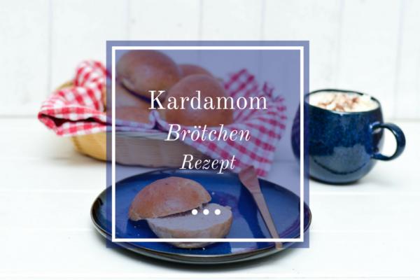 fluffige Brötchen mit Kardamom und Dinkelmehl