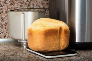 fertiges Brot, direkt aus dem Brotbackautomaten nach dem Brotbackautomat Test