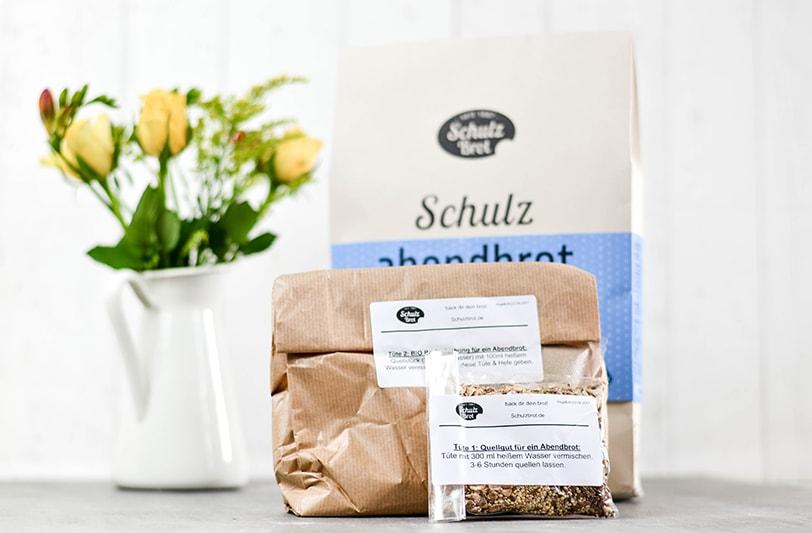 Schulz Bio Brotbackmischung Test - der Inhalt