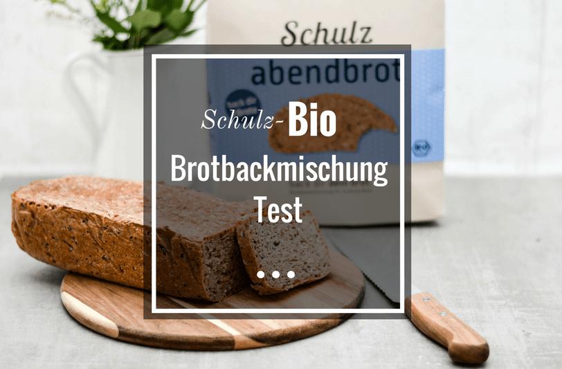 Schulz Bio Brotbackmischung Test