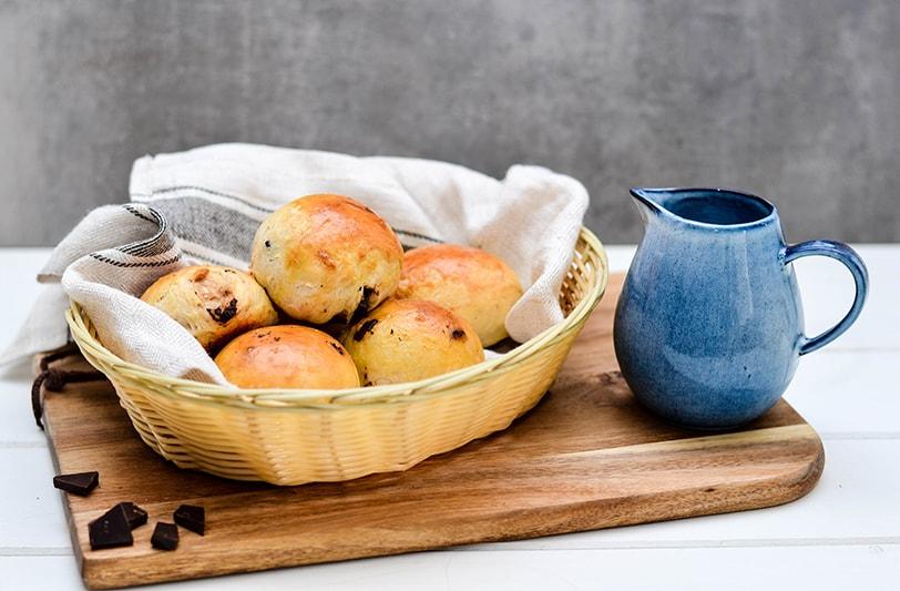 Schokobrötchen Rezept zum Frühstück