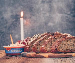 leckeres Kürbiskernbrot Rezept mit Gutfried Aufstrich